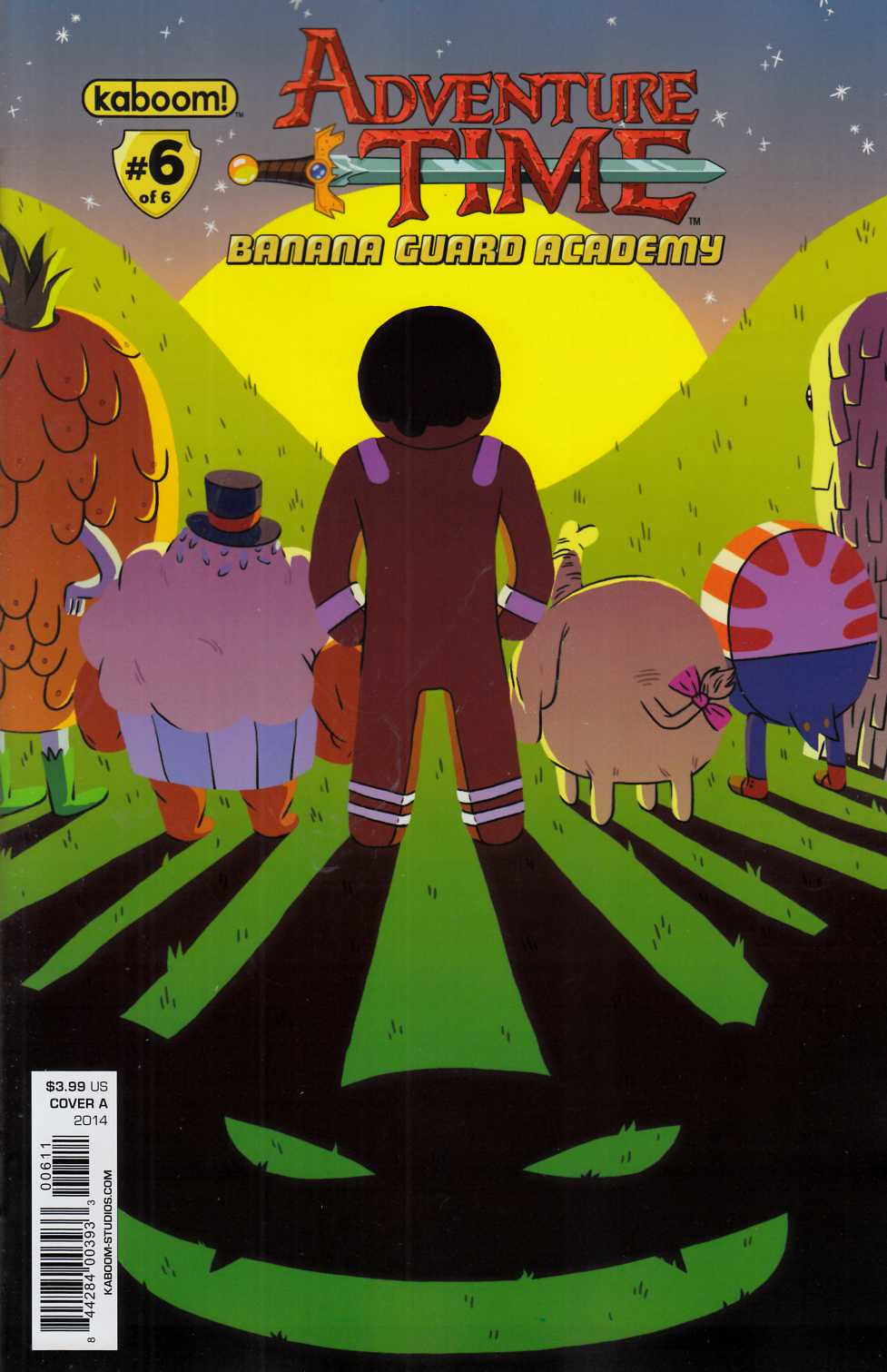 Adventure Time Banana Guard Academy #6 Cover A [Boom Comic]