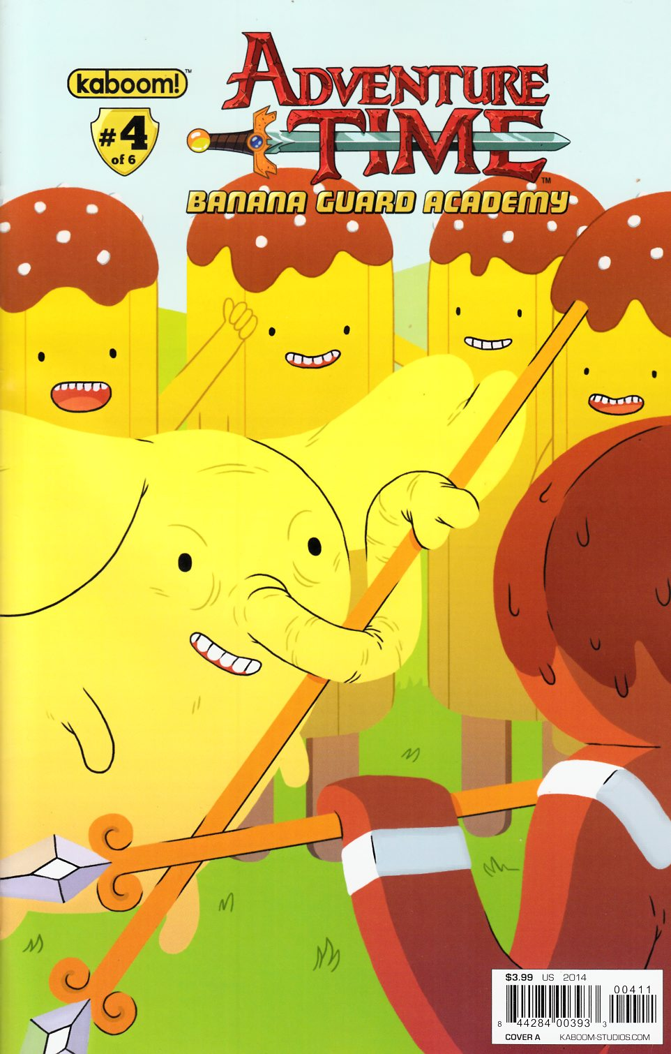 Adventure Time Banana Guard Academy #4 Cover A Fleck [Kaboom! Comic]