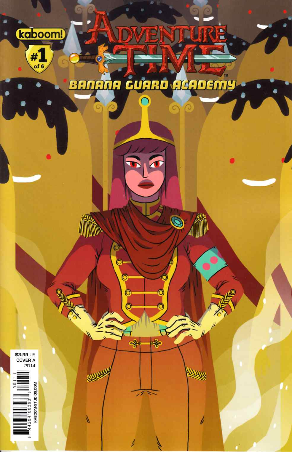 Adventure Time Banana Guard Academy #1 Cover A [Comic]