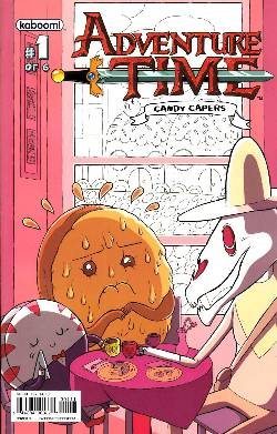 Adventure Time Candy Capers #1 Cover A [Comic] LARGE