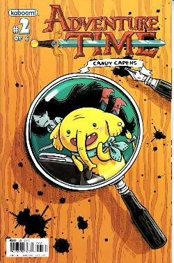 Adventure Time Candy Capers #2 Cover A [Comic] LARGE
