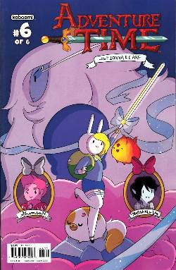 Adventure Time Fionna & Cake #6 Cover A [Comic] LARGE