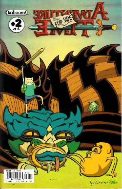 Adventure Time Flip Side #2 Cover B [Comic] LARGE