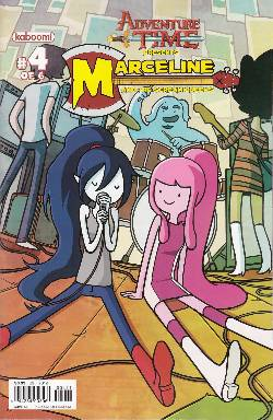 Adventure Time Marceline Scream Queens #4 Cover A- Jab [Comic] LARGE