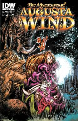 Adventures of Augusta Wind #3 [IDW Comic] LARGE