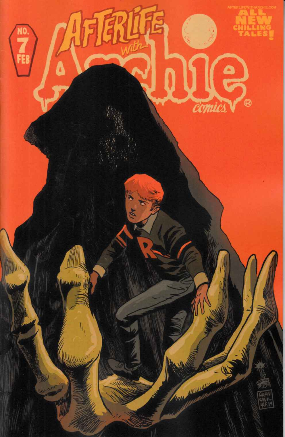 Afterlife With Archie #7 Francavilla Cover [Archie Comic]