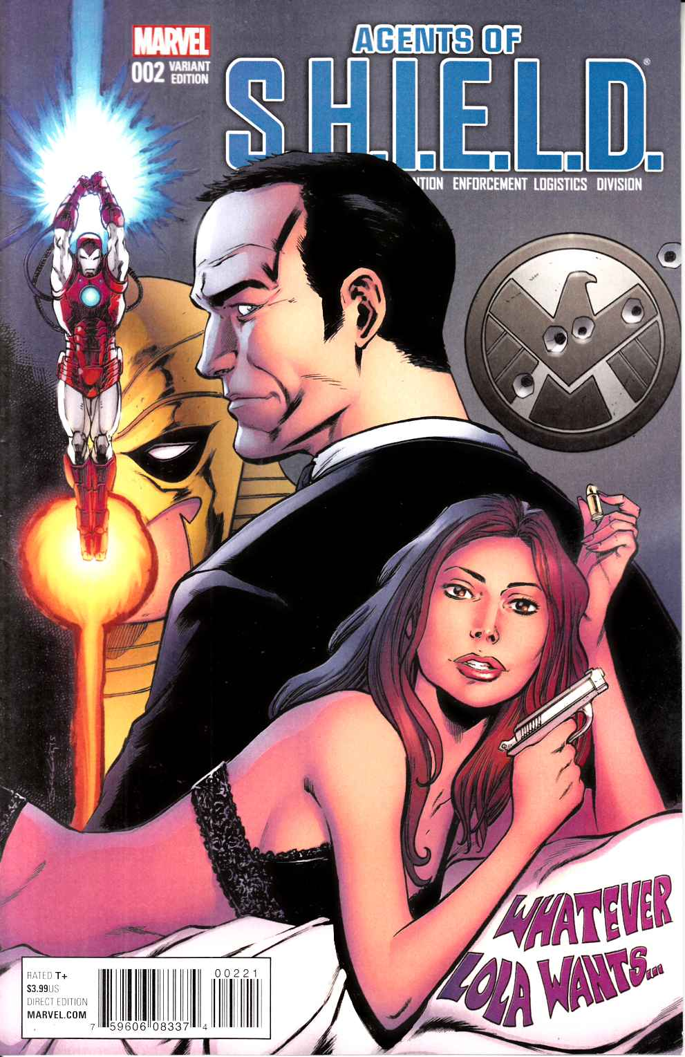 Agents of Shield #2 Seely Variant Cover [Marvel Comic] THUMBNAIL