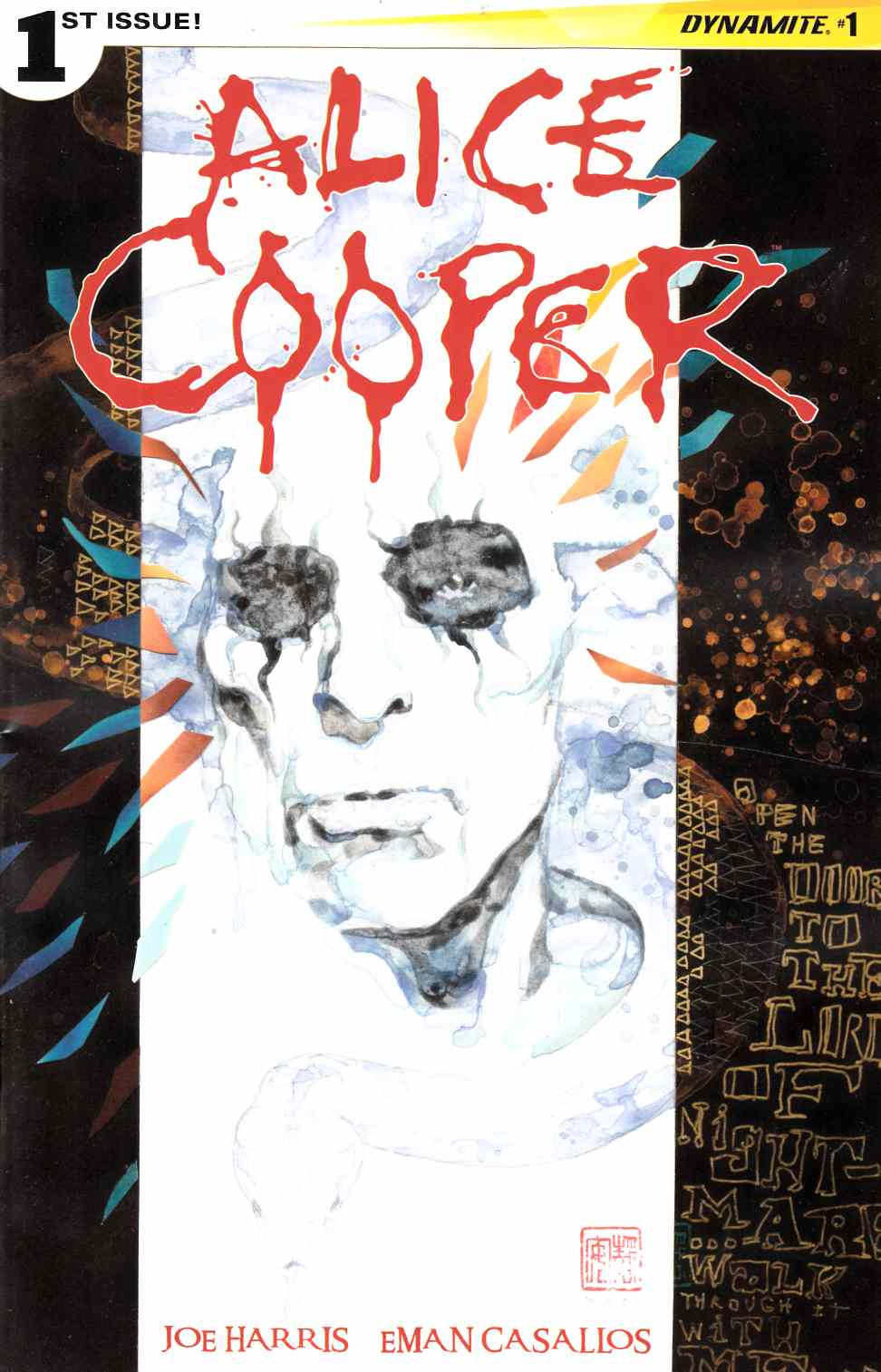 Alice Cooper #1 Near Mint (9.4) [Dynamite Comic] THUMBNAIL