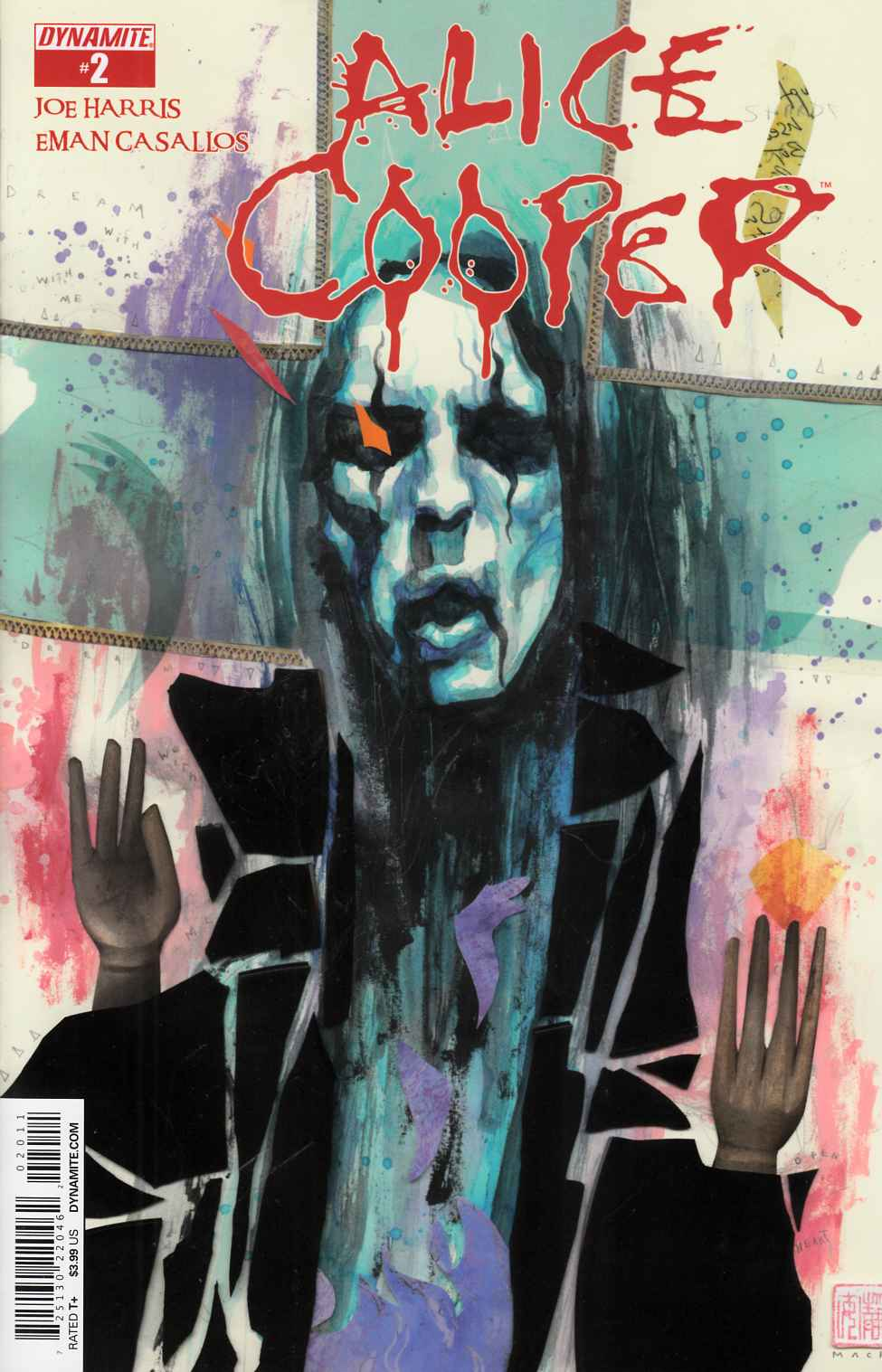 Alice Cooper #2 [Dynamite Comic] LARGE