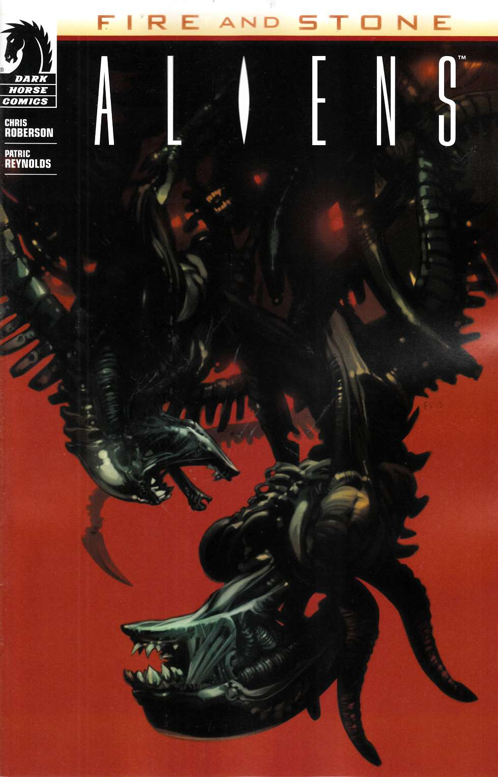 Aliens Fire and Stone #1 Staples Variant Cover [Comic] LARGE