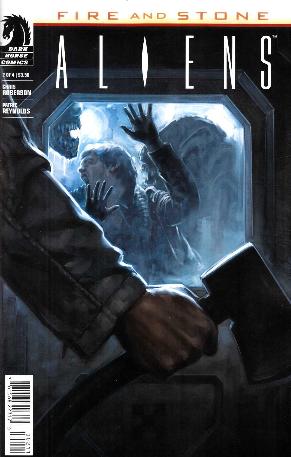 Aliens Fire And Stone #2 [Dark Horse Comic] LARGE