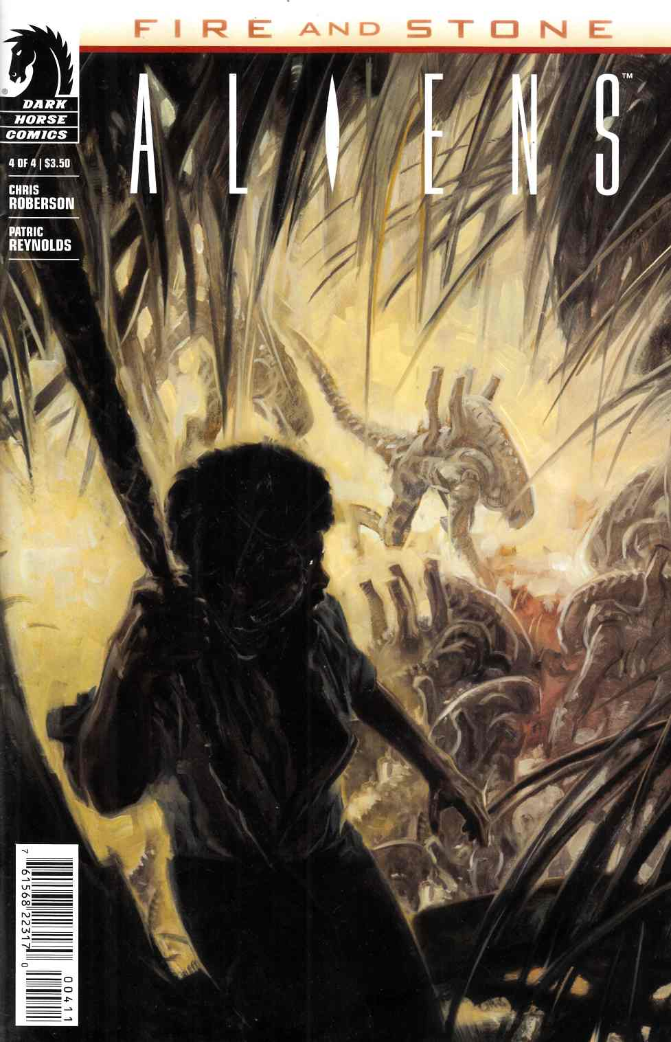 Aliens Fire and Stone #4 [Dark Horse Comic]