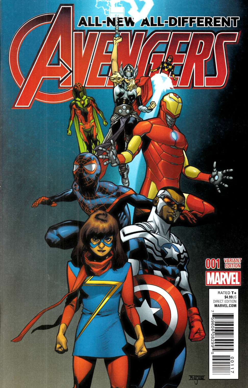 All New All Different Avengers Vol 1 2: Back Issues / Marvel BackIssues / All New All Different