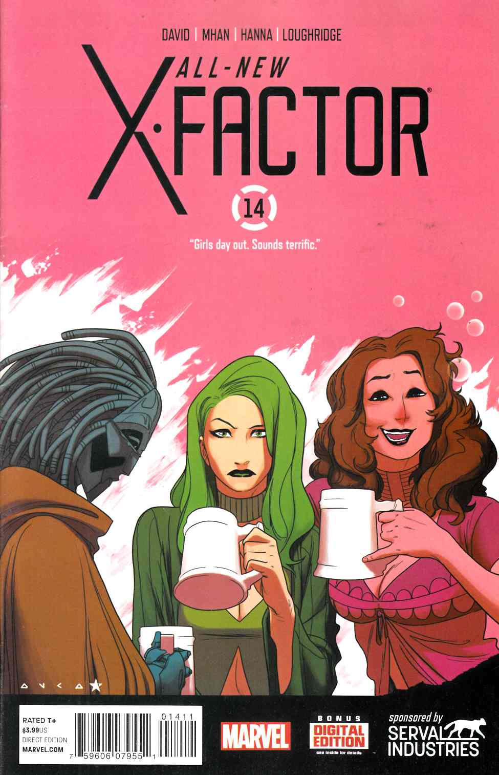 All New X-Factor #14 Very Fine Minus (7.5) [Marvel Comic] LARGE