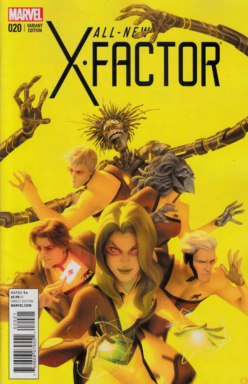 All New X-Factor #20 Final Issue Variant Cover very Fine (8.0) [Marvel Comic] LARGE