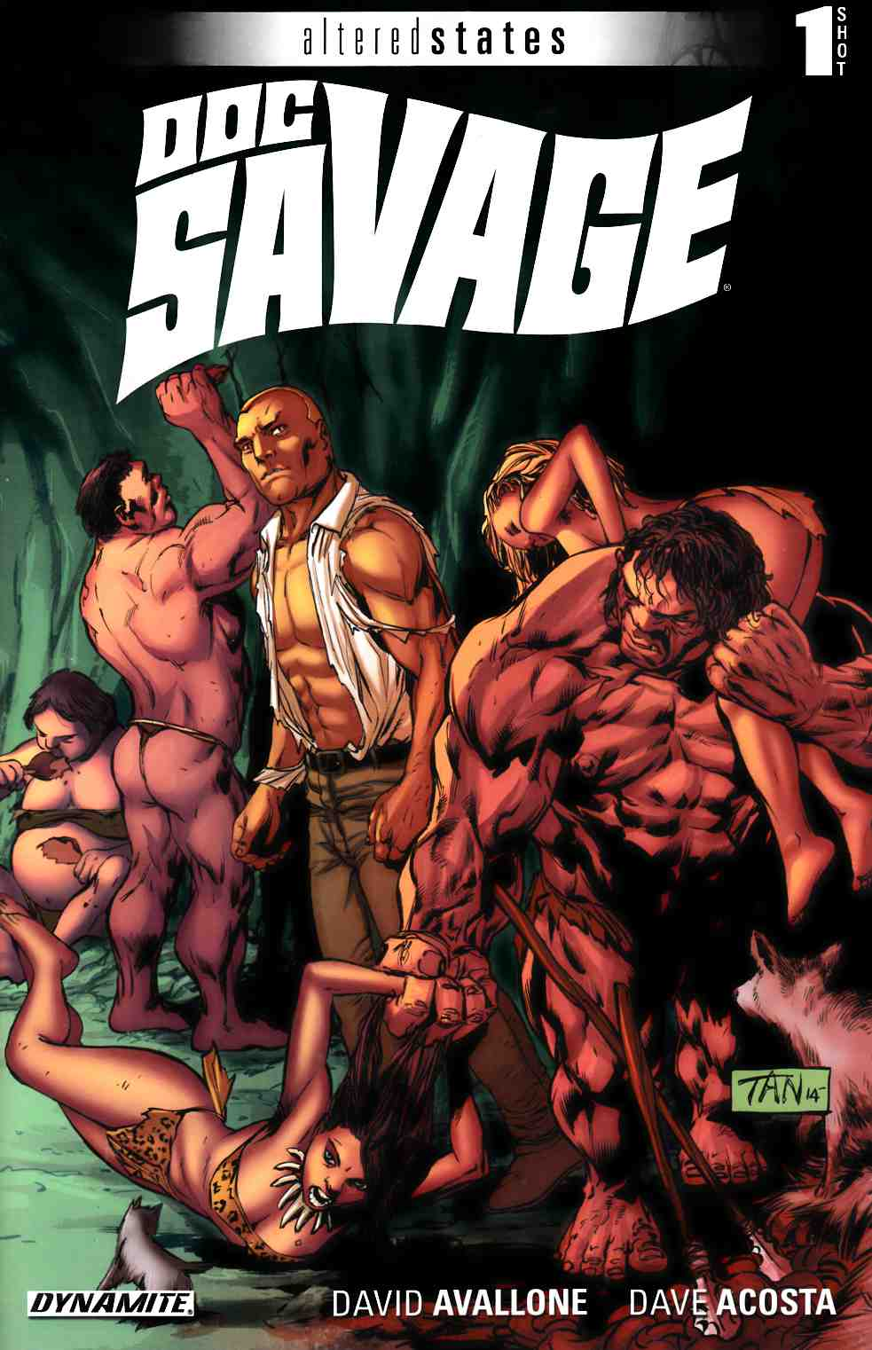 Altered States Doc Savage (One Shot) [Dynamite Comic] THUMBNAIL