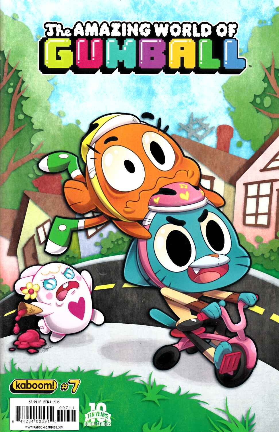 Amazing World of Gumball #7 [Boom Comic] THUMBNAIL