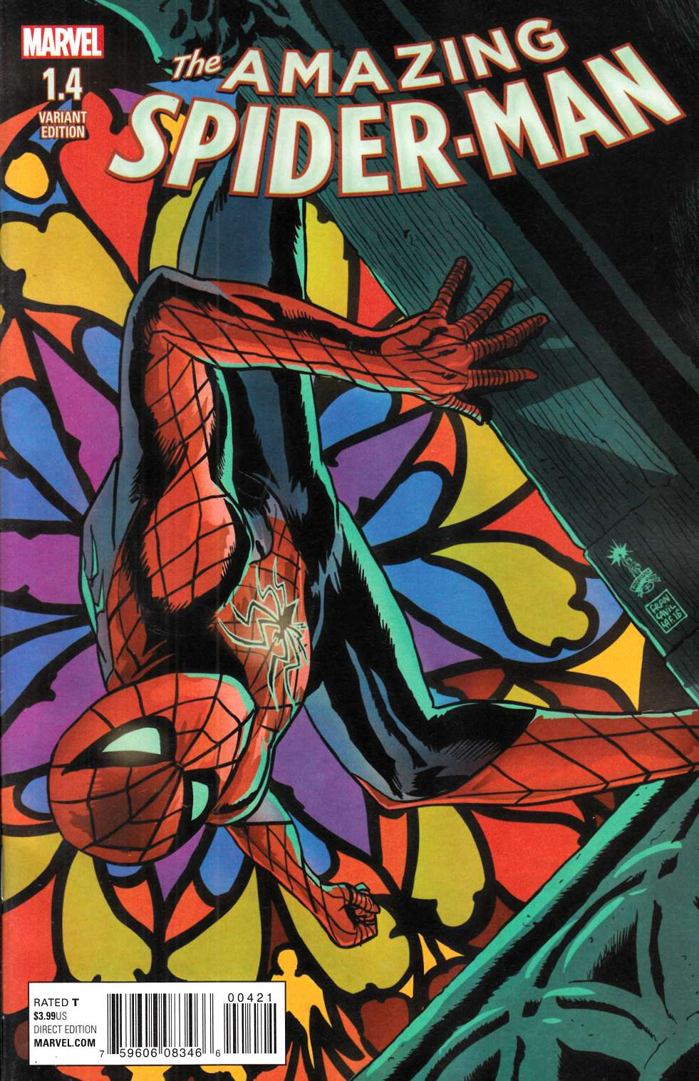 Amazing Spider-Man #1.4 Variant Cover [Marvel Comic] THUMBNAIL