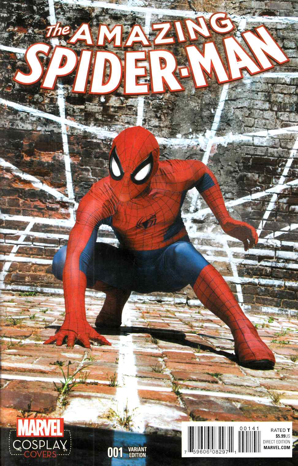 Amazing Spider-Man #1 Cosplay Variant Cover [Marvel Comic] THUMBNAIL