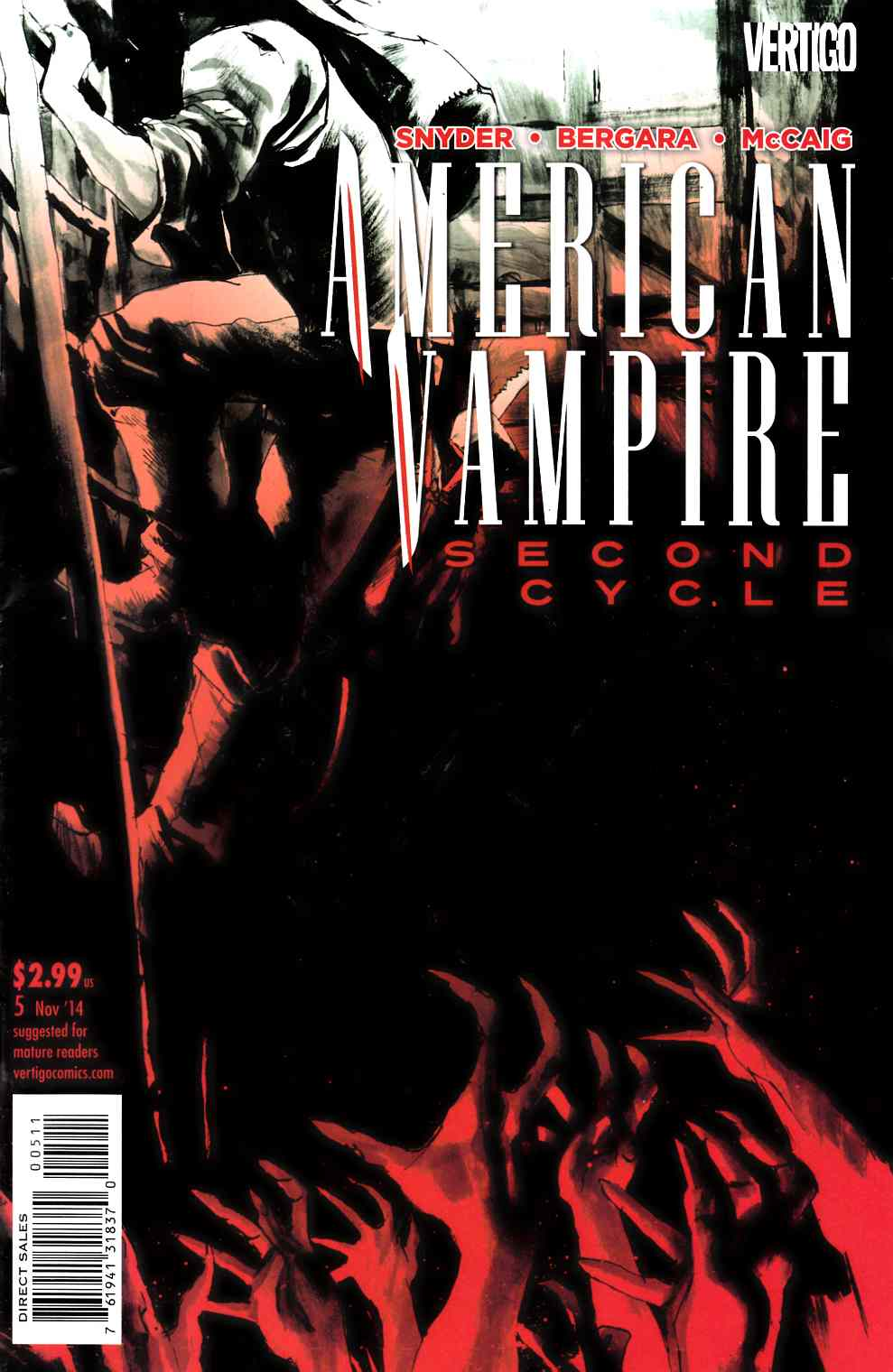 American Vampire Second Cycle #5 [Comic] LARGE