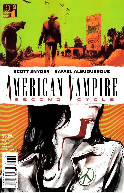 American Vampire Second Cycle #1 [Comic] LARGE