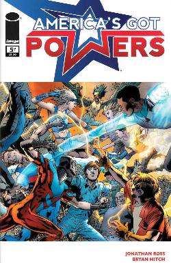Americas Got Powers #5 [Comic] LARGE