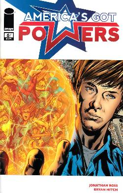 Americas Got Powers #6 [Comic] LARGE