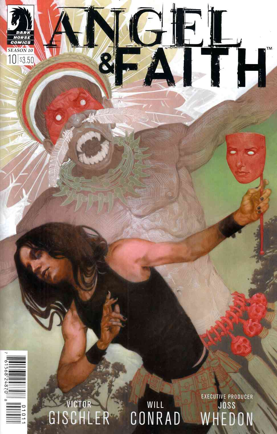 Angel and Faith Season 10 #10 [Dark Horse Comic] THUMBNAIL