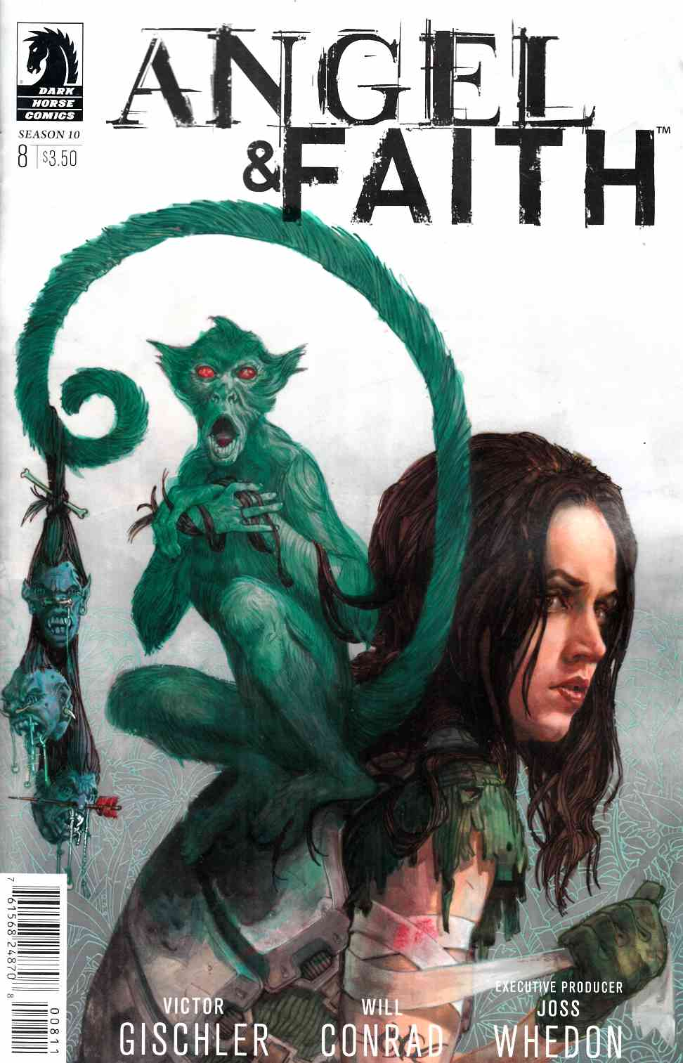 Angel and Faith Season 10 #8 [Dark Horse Comic] LARGE