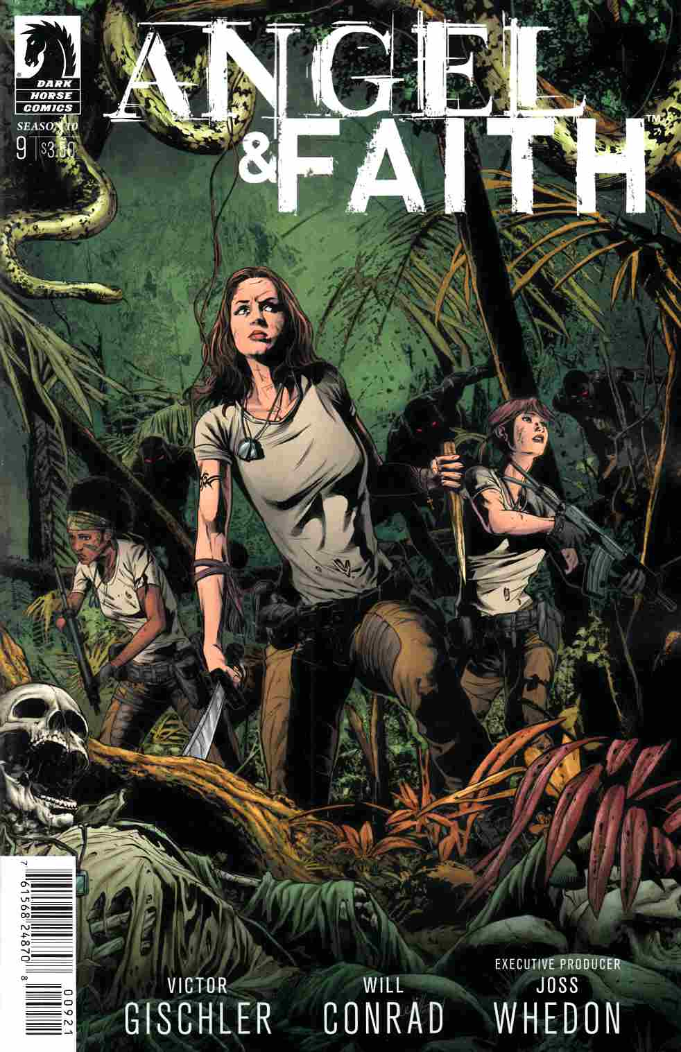 Angel and  Faith Season 10 #9 Conrad Variant Cover [Dark Horse Comic] THUMBNAIL