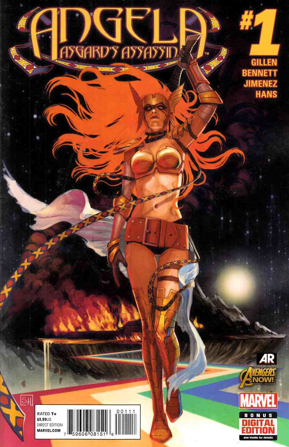 Angela Asgards Assassin #1 Near Mint (9.4) [Marvel Comic] THUMBNAIL