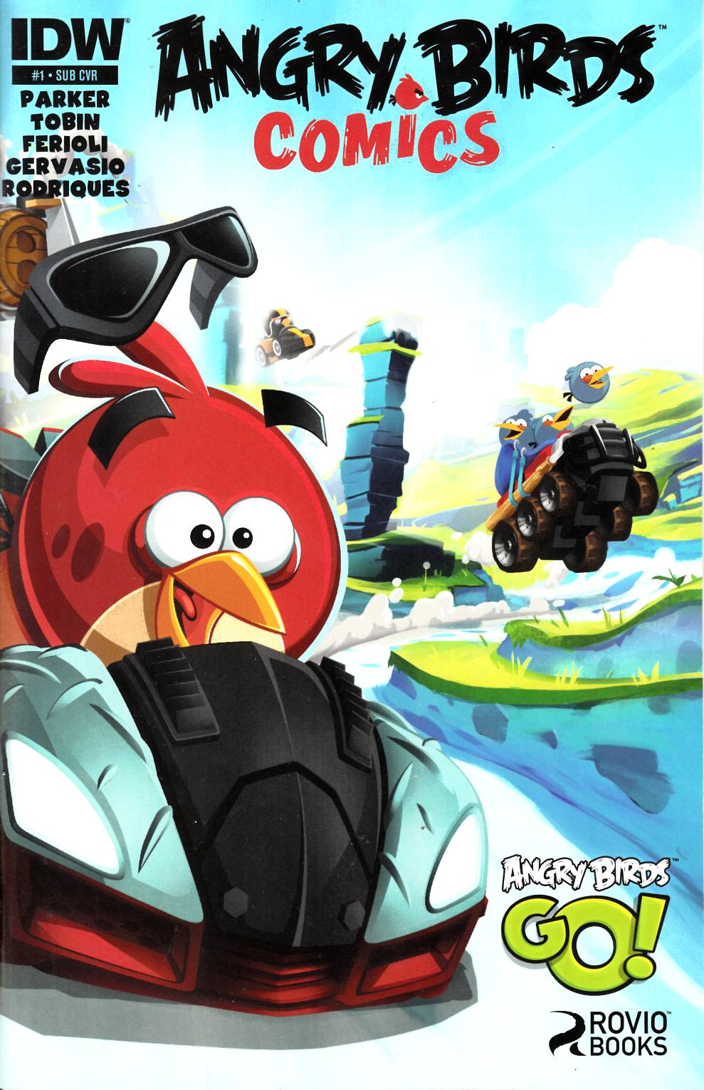Angry Birds Comics #1 Subscription Cover [Comic]_THUMBNAIL