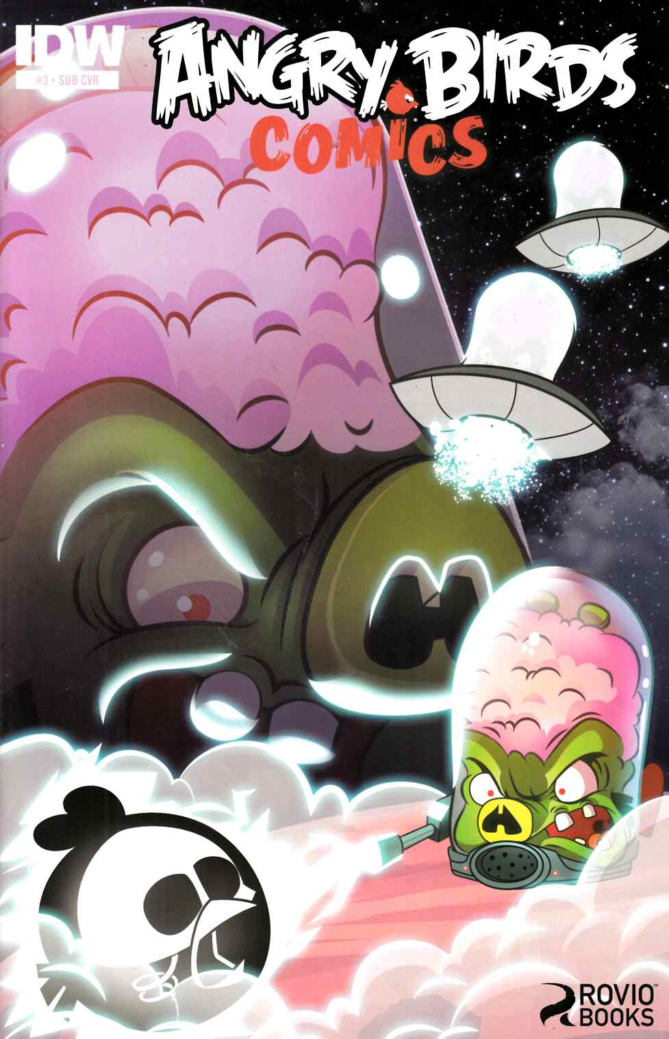 Angry Birds Comics #3 Subscription Cover [Comic] THUMBNAIL