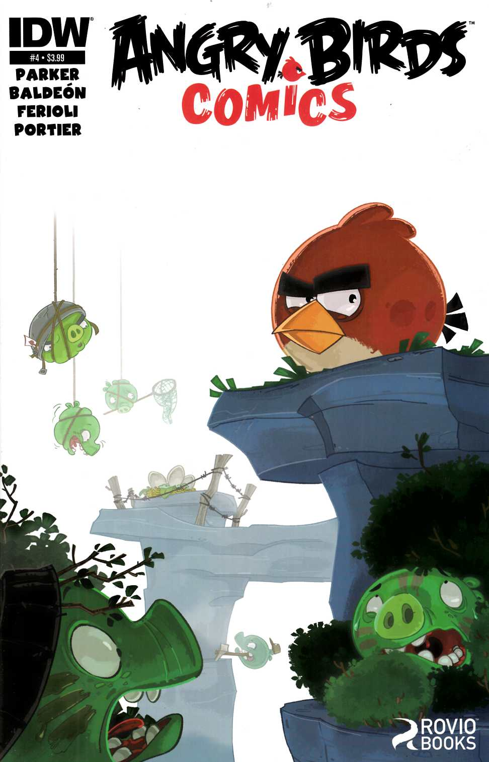 Angry Birds Comics #4 [Comic] THUMBNAIL