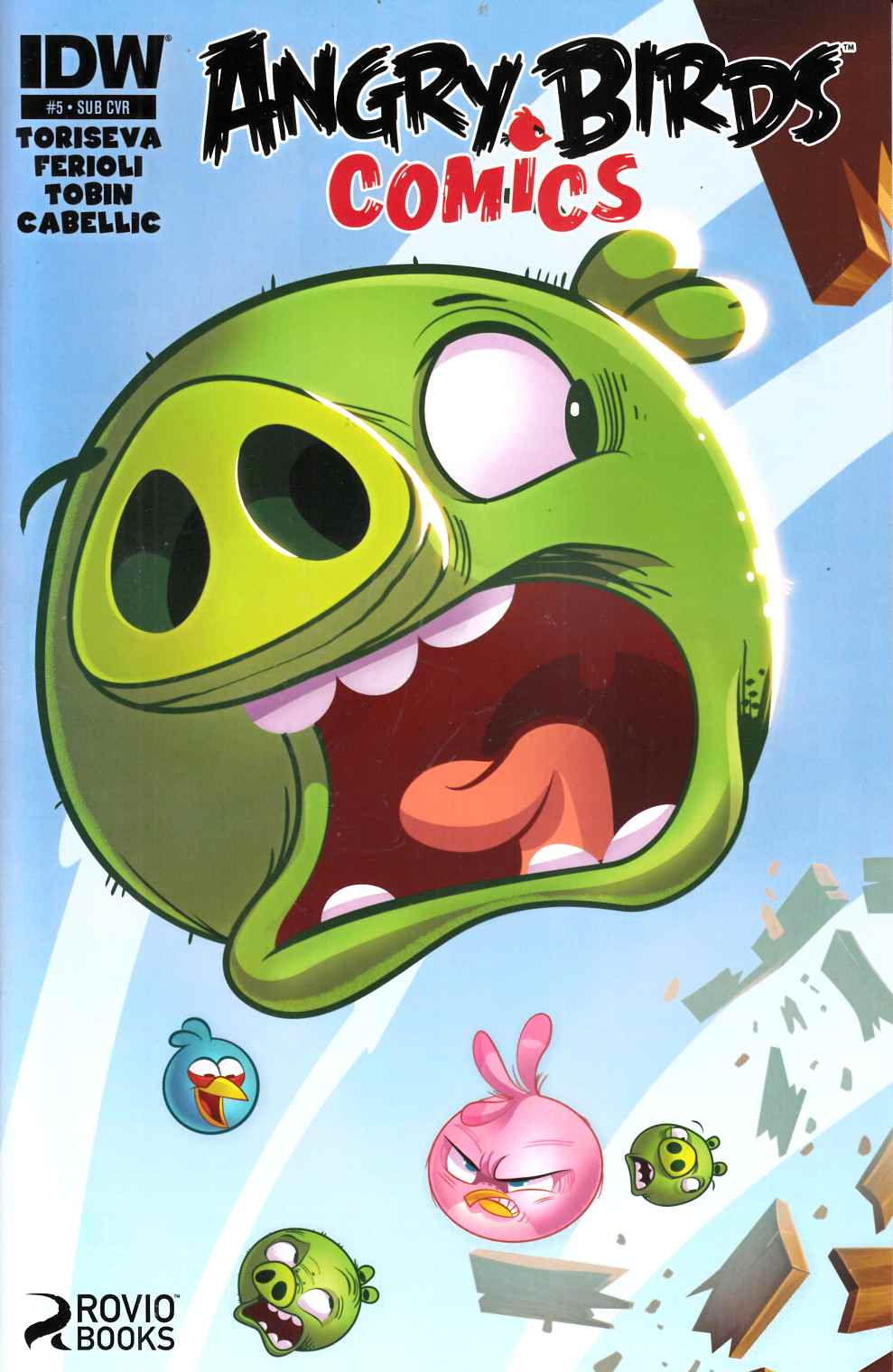 Angry Birds Comics #5 Subscription Cover [Comic] THUMBNAIL