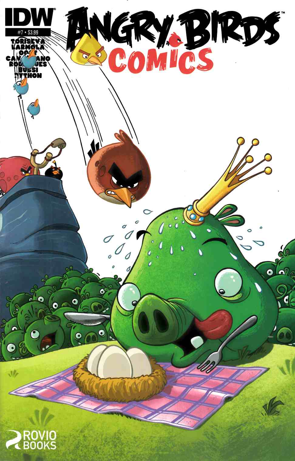 Angry Birds #7 [IDW Comic] LARGE