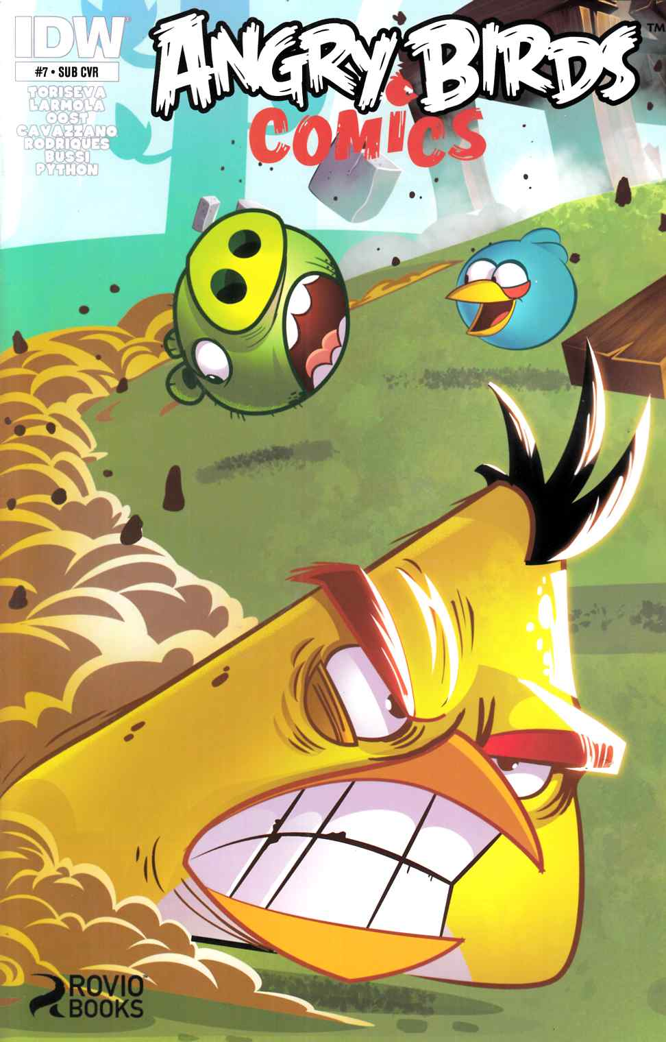 Angry Birds #7 Subscription Cover [IDW Comic]_THUMBNAIL