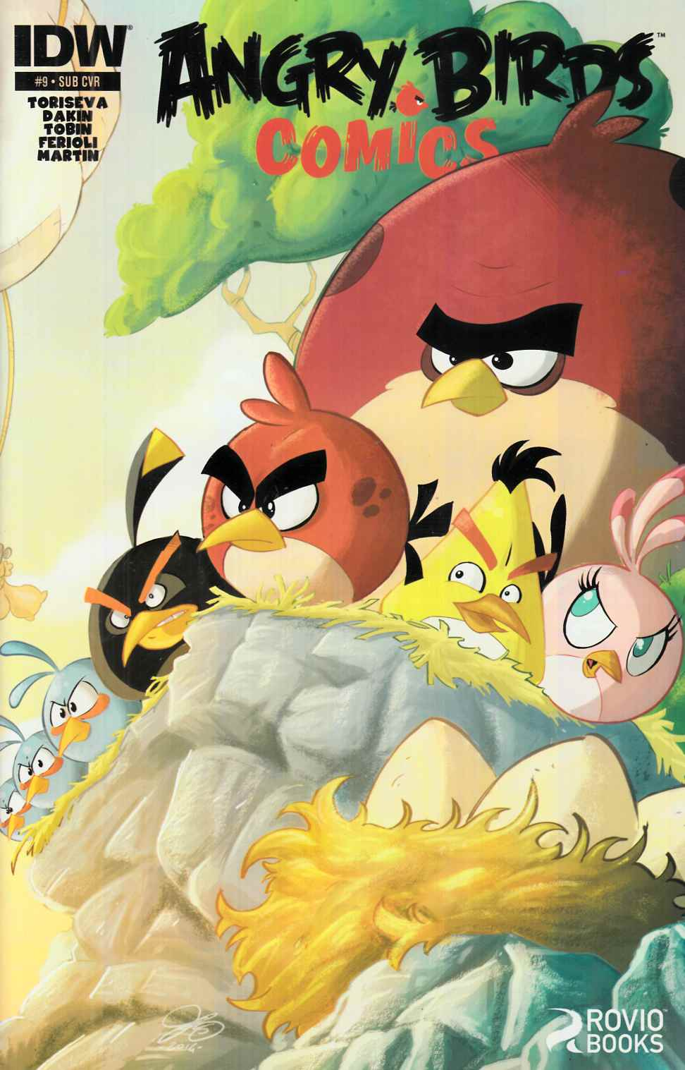 Angry Birds #9 Subscription Cover [IDW Comic]_THUMBNAIL