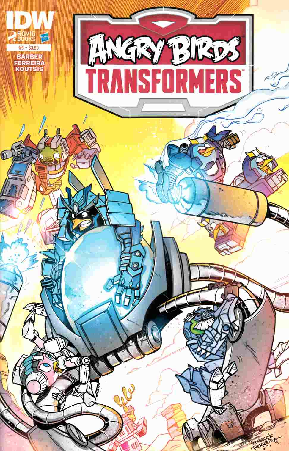 Angry Birds Transformers #3 [IDW Comic]