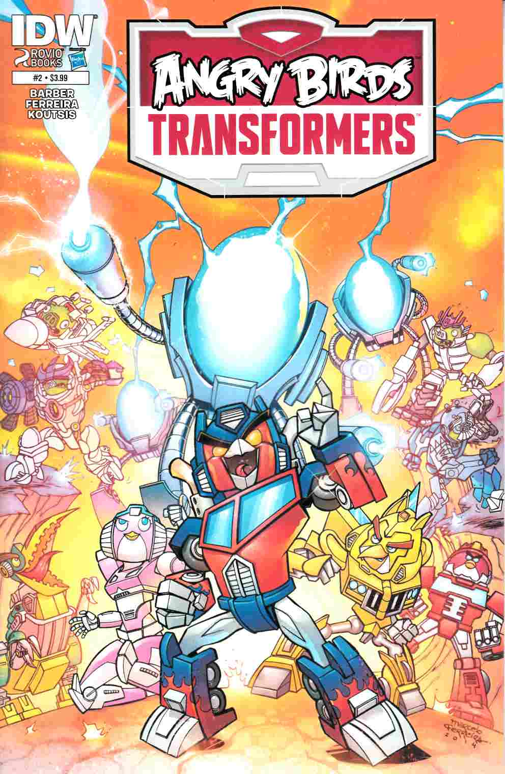 Angry Birds Transformers #2 [IDW Comic]