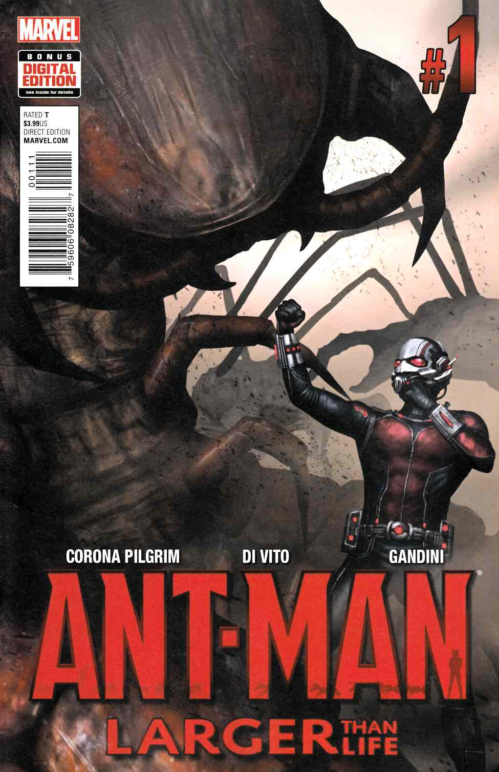 Ant-Man Larger Than Life #1 [Marvel Comic] THUMBNAIL