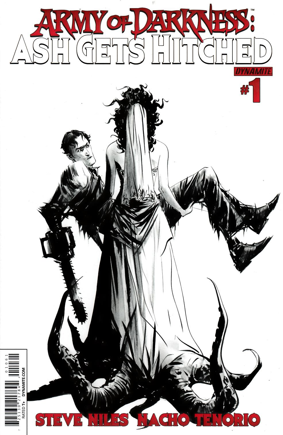 Army of Darkness Ash Gets Hitched #1 Jae Lee B&W Incentive Cover [Comic]_THUMBNAIL