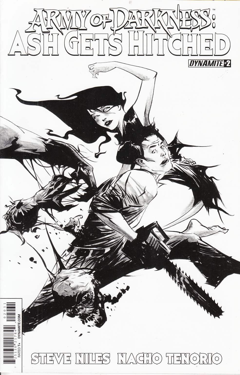 Army of Darkness Hitched #2 Black & White Lee Incentive Cover [Comic]_THUMBNAIL