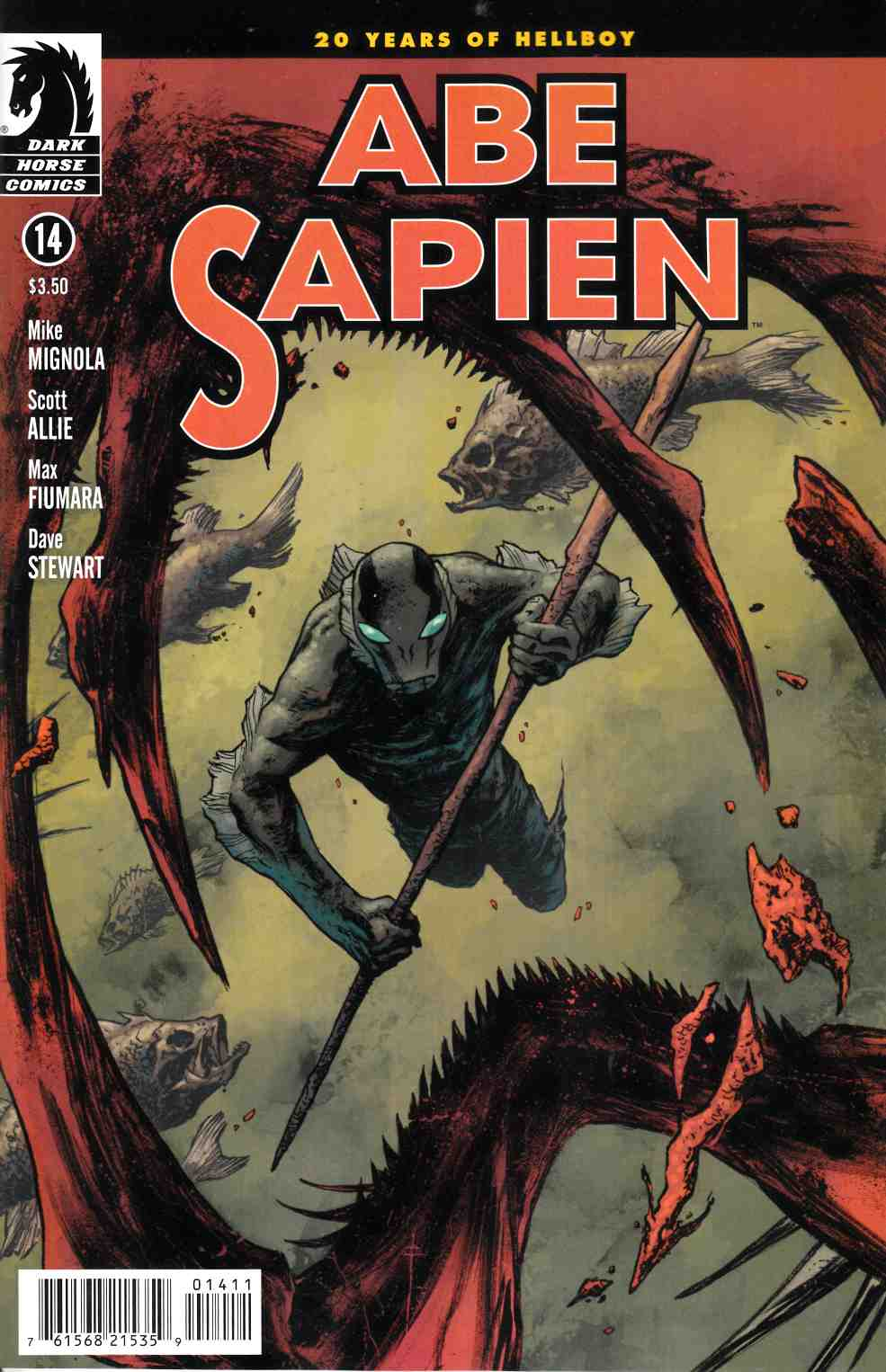 Abe Sapien #14 [Comic] LARGE