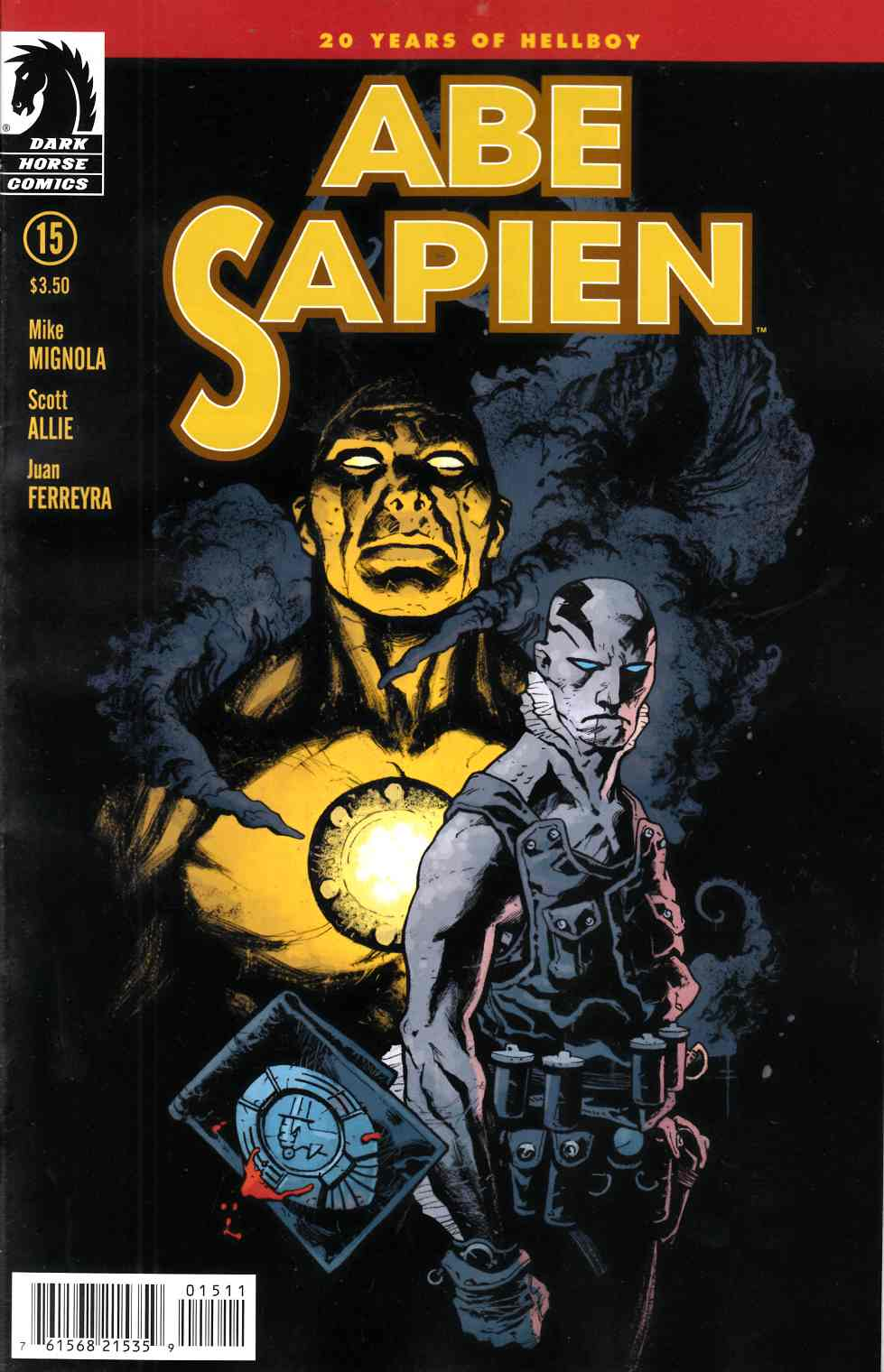 Abe Sapien #15 [Comic] LARGE