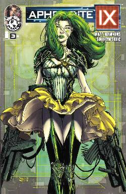Aphrodite IX #3 Cover B- Finch [Comic] LARGE