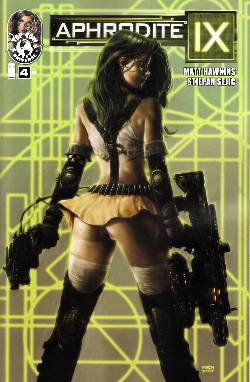 Aphrodite IX #4 Cover B- Finch [Comic] LARGE