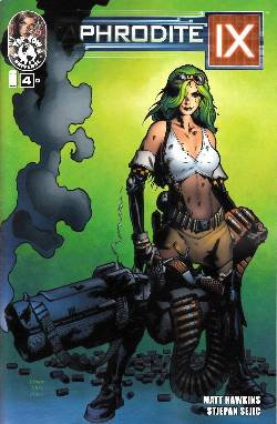 Aphrodite IX #4 Cover D- Hairsine [Comic] LARGE