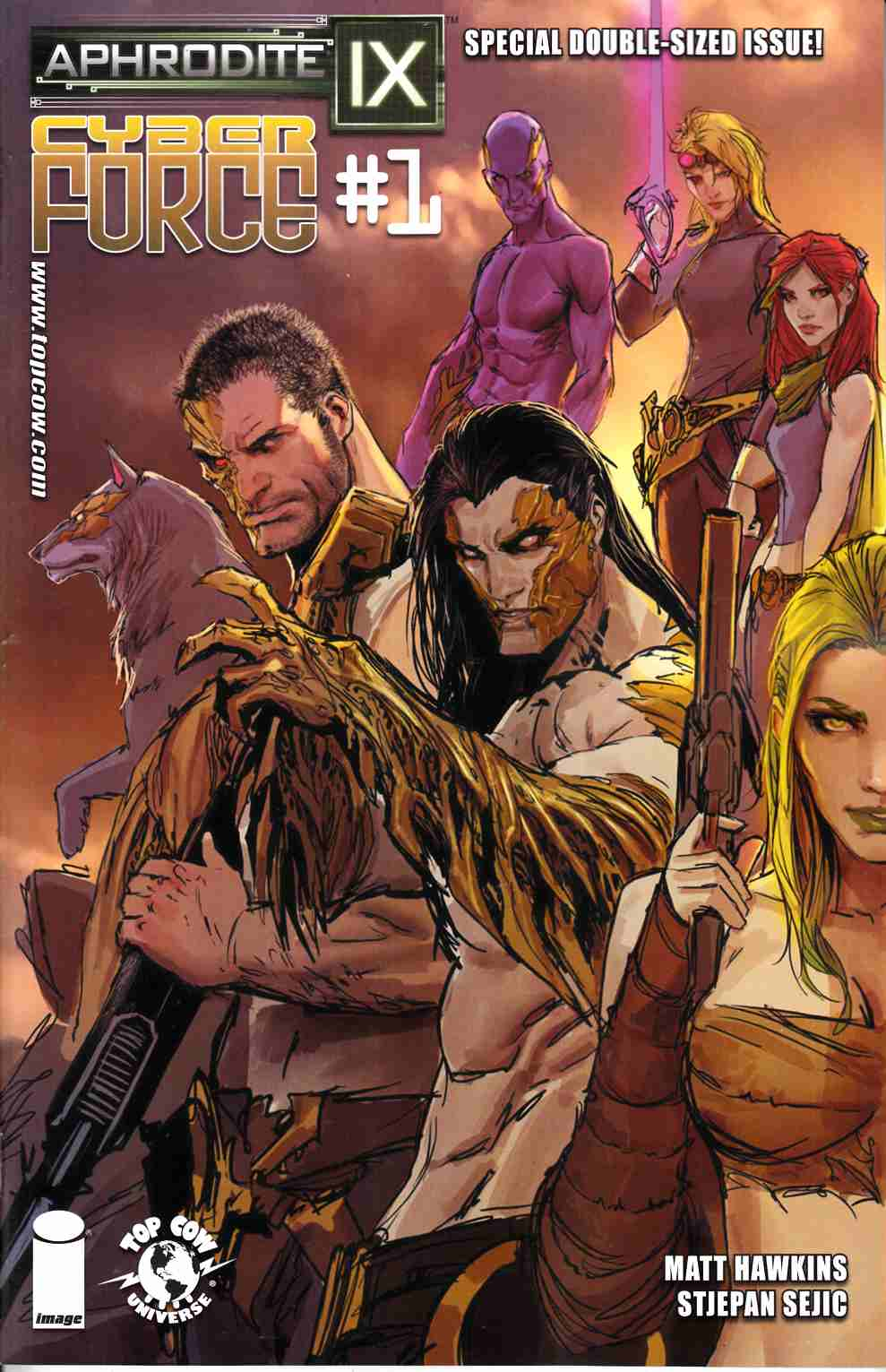 Aphrodite IX Cyber Force #1 Cover A- Sejic [Comic]_THUMBNAIL