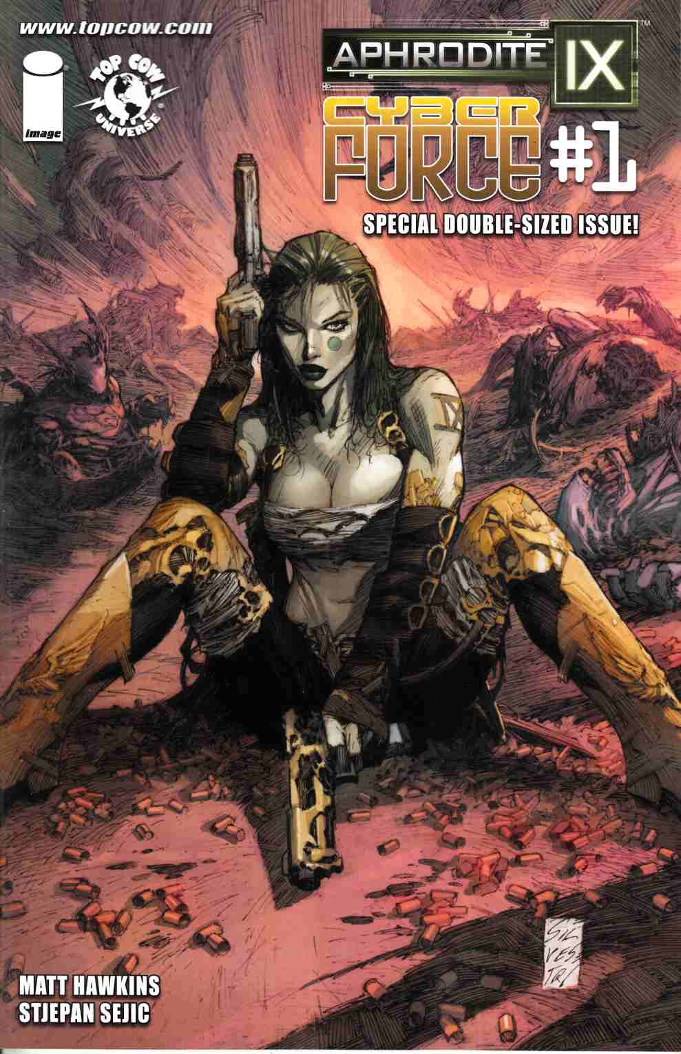 Aphrodite IX Cyber Force #1 Cover C- Silvestri [Comic]_THUMBNAIL